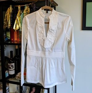 MUST HAVE blouse SO SOFT BCBG small